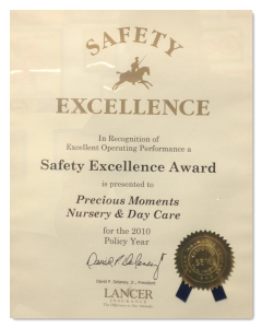 Precious Moments Safety Award Queens NY-01