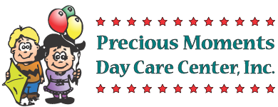 Precious Moments Nursery School and Day Care Retina Logo